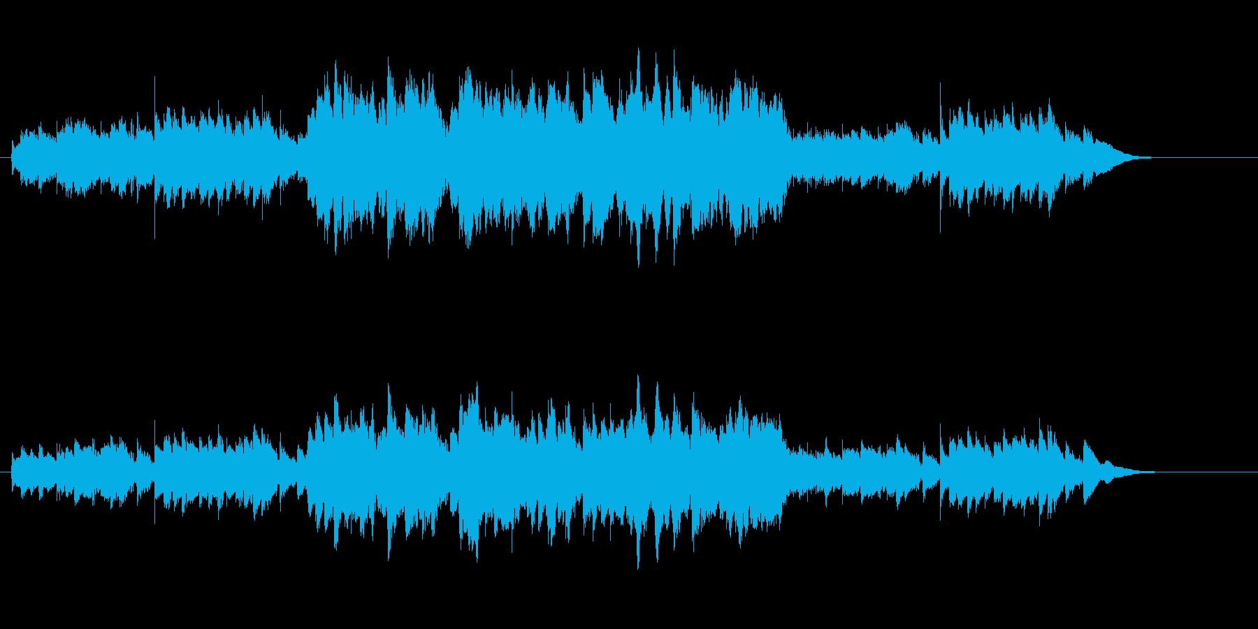 楚々とした和風コマーシャルソングの再生済みの波形
