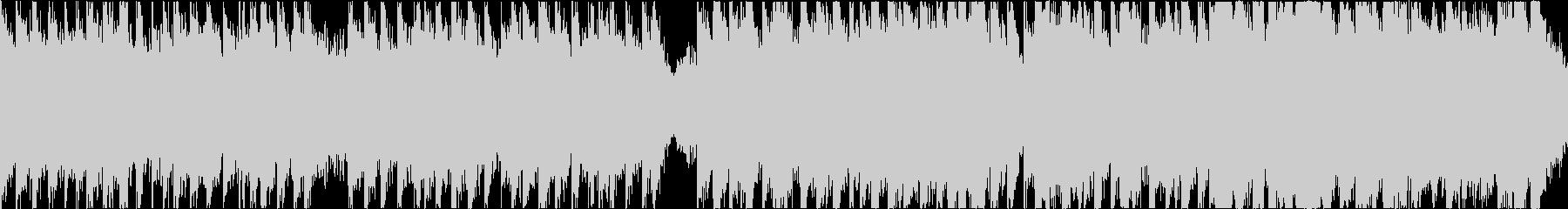 序盤バトル系の軽快なオーケストラ/ループの未再生の波形