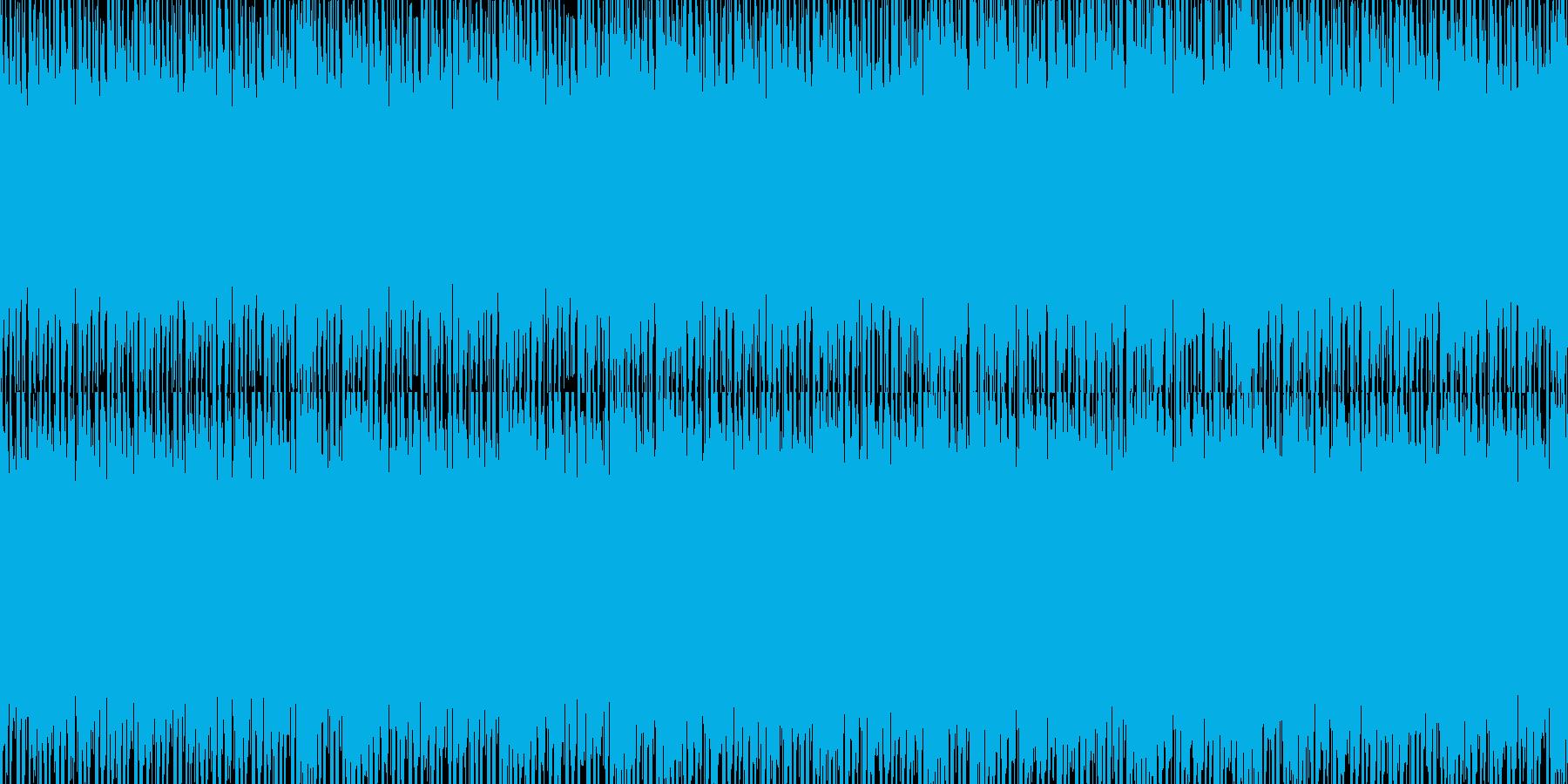 雰囲気のあるヒップホップループバージョンの再生済みの波形