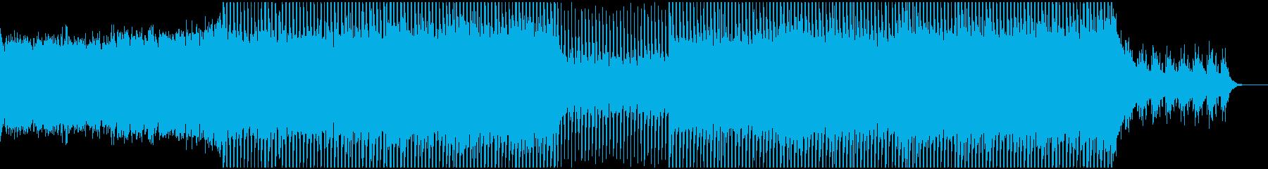 EDMメカニカル、テクノ、クラブ系-02の再生済みの波形