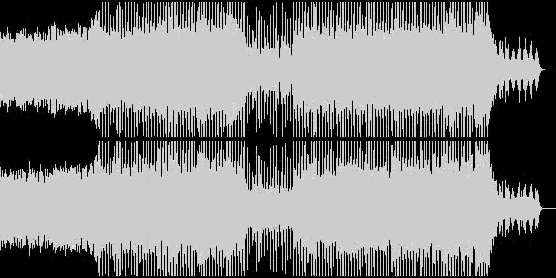 EDMメカニカル、テクノ、クラブ系-02の未再生の波形