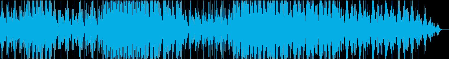 ノスタルジックなポップスの再生済みの波形