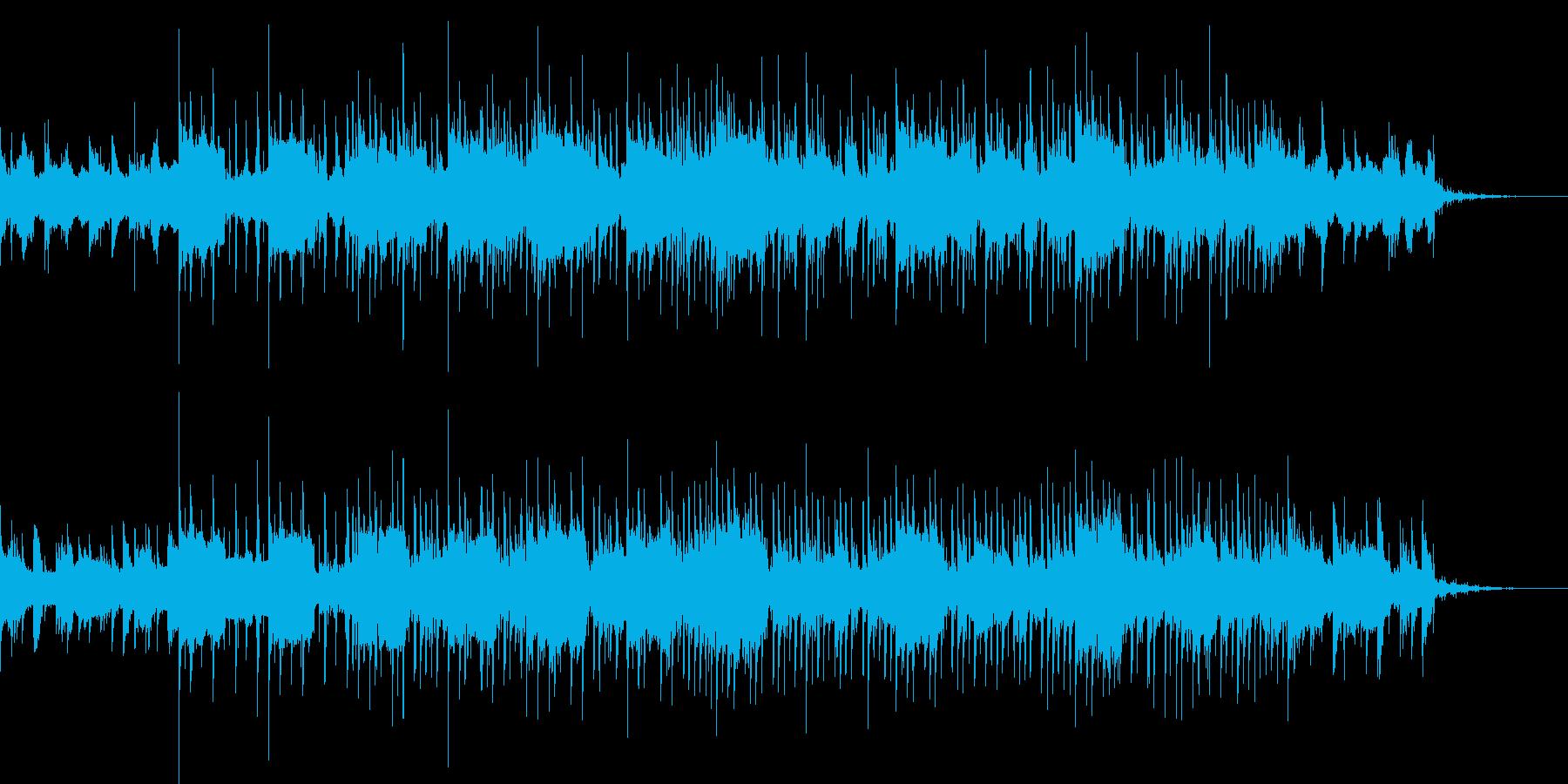 近未来の東京をイメージする曲の再生済みの波形