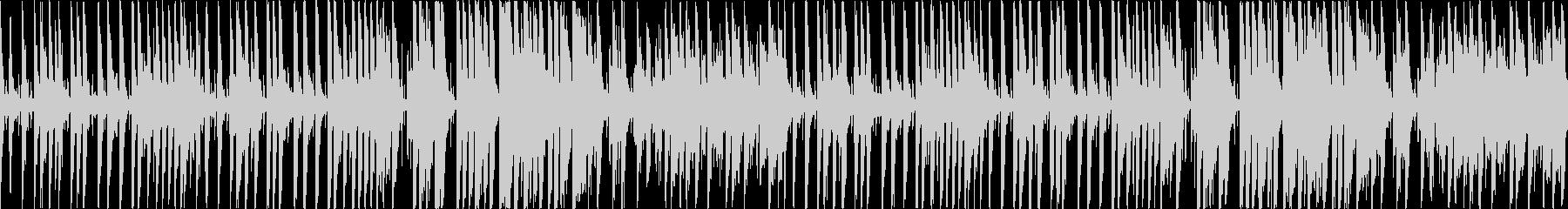 キラキラした雰囲気の温かいポップス(1尺の未再生の波形