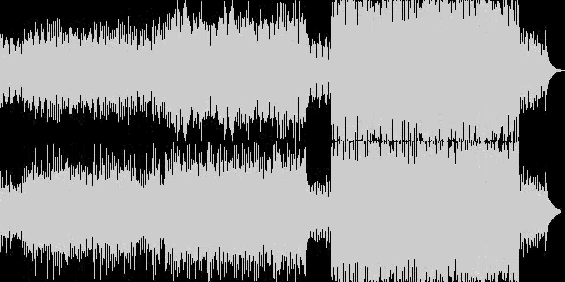 短調のジグ(アイルランド舞曲)の未再生の波形