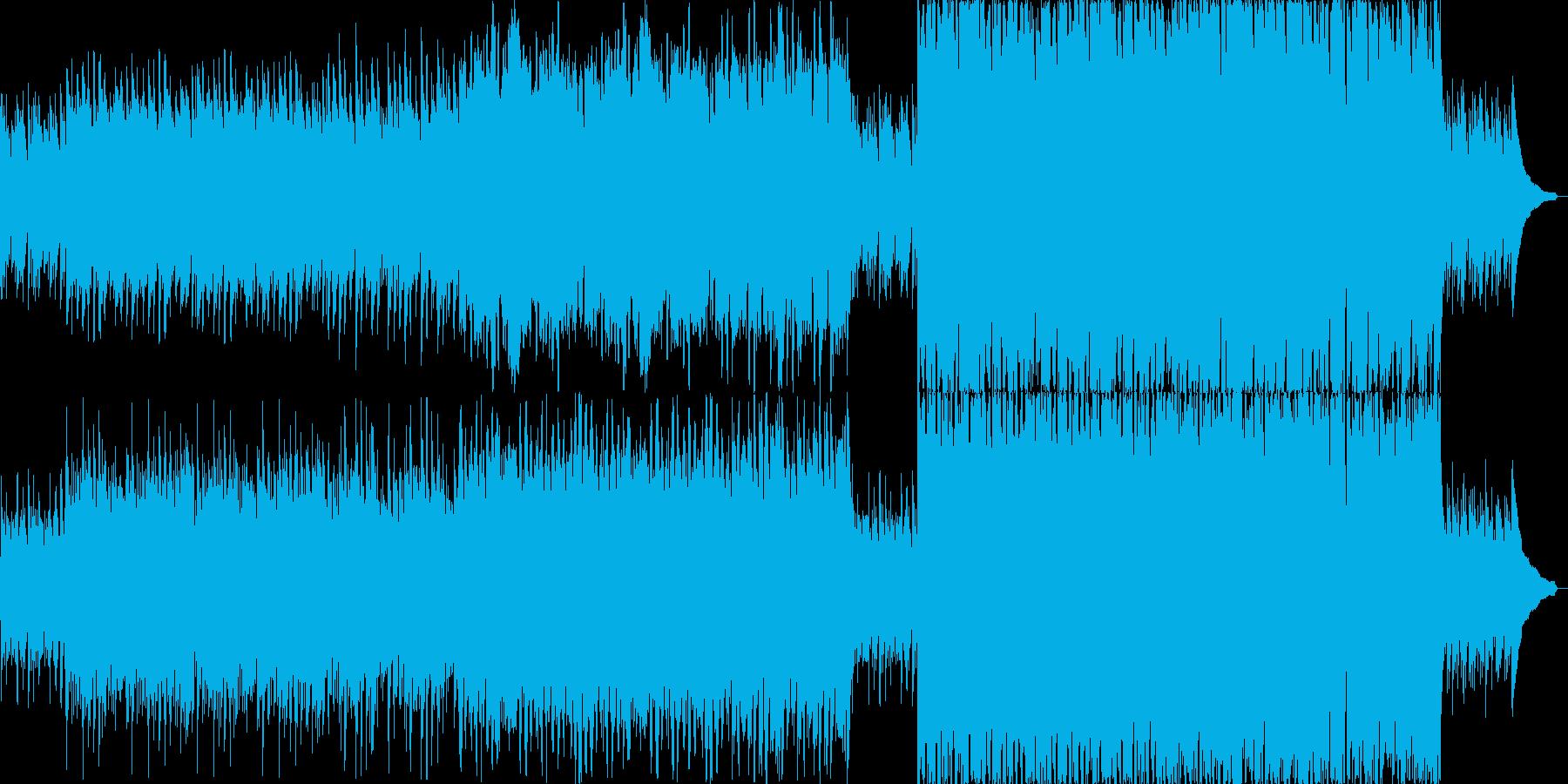 短調のジグ(アイルランド舞曲)の再生済みの波形