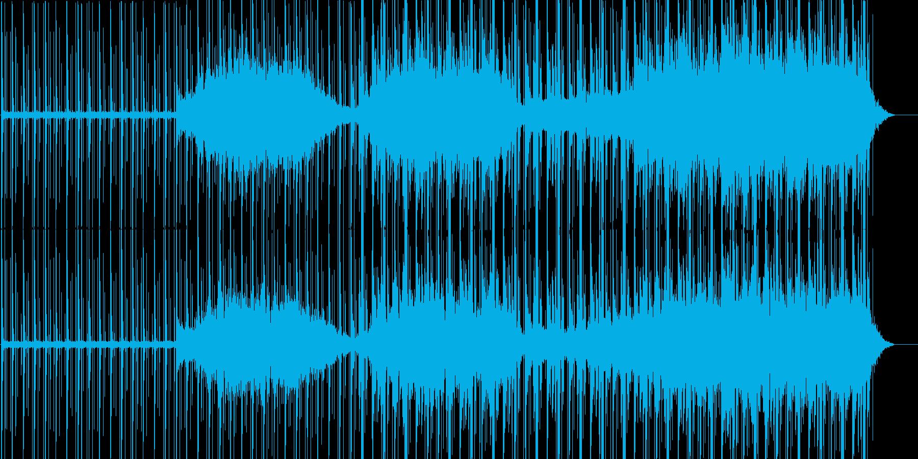 【テック】映像系に合いそうなテクノの再生済みの波形