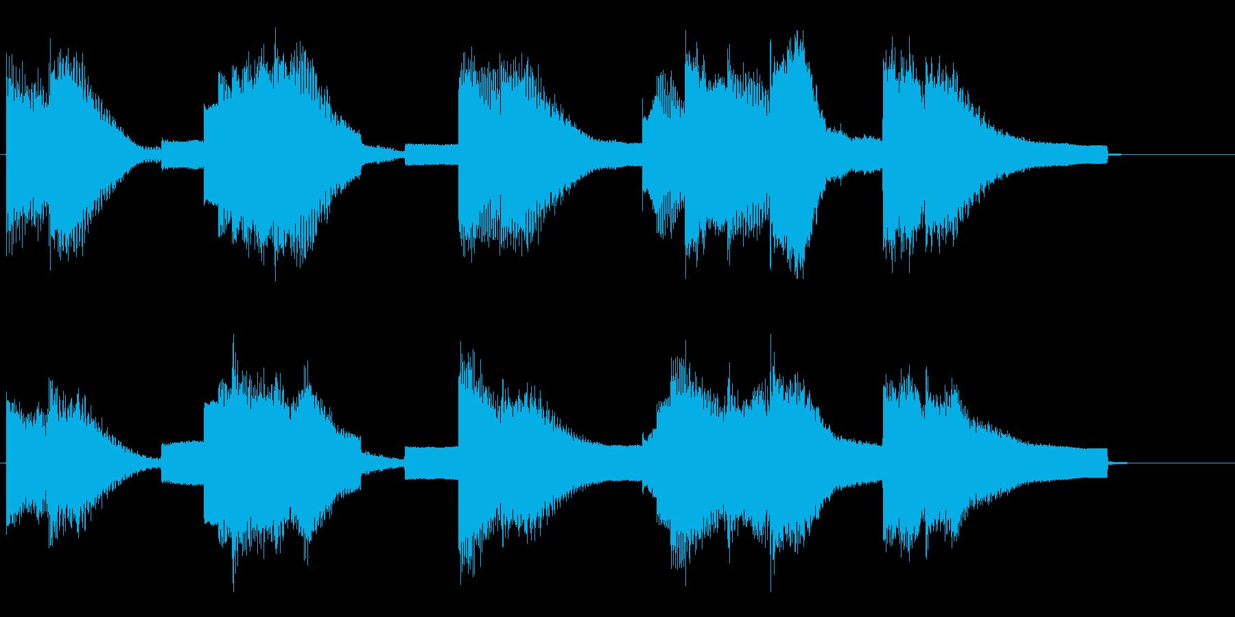 エレクトリックピアノとシンセリードによ…の再生済みの波形