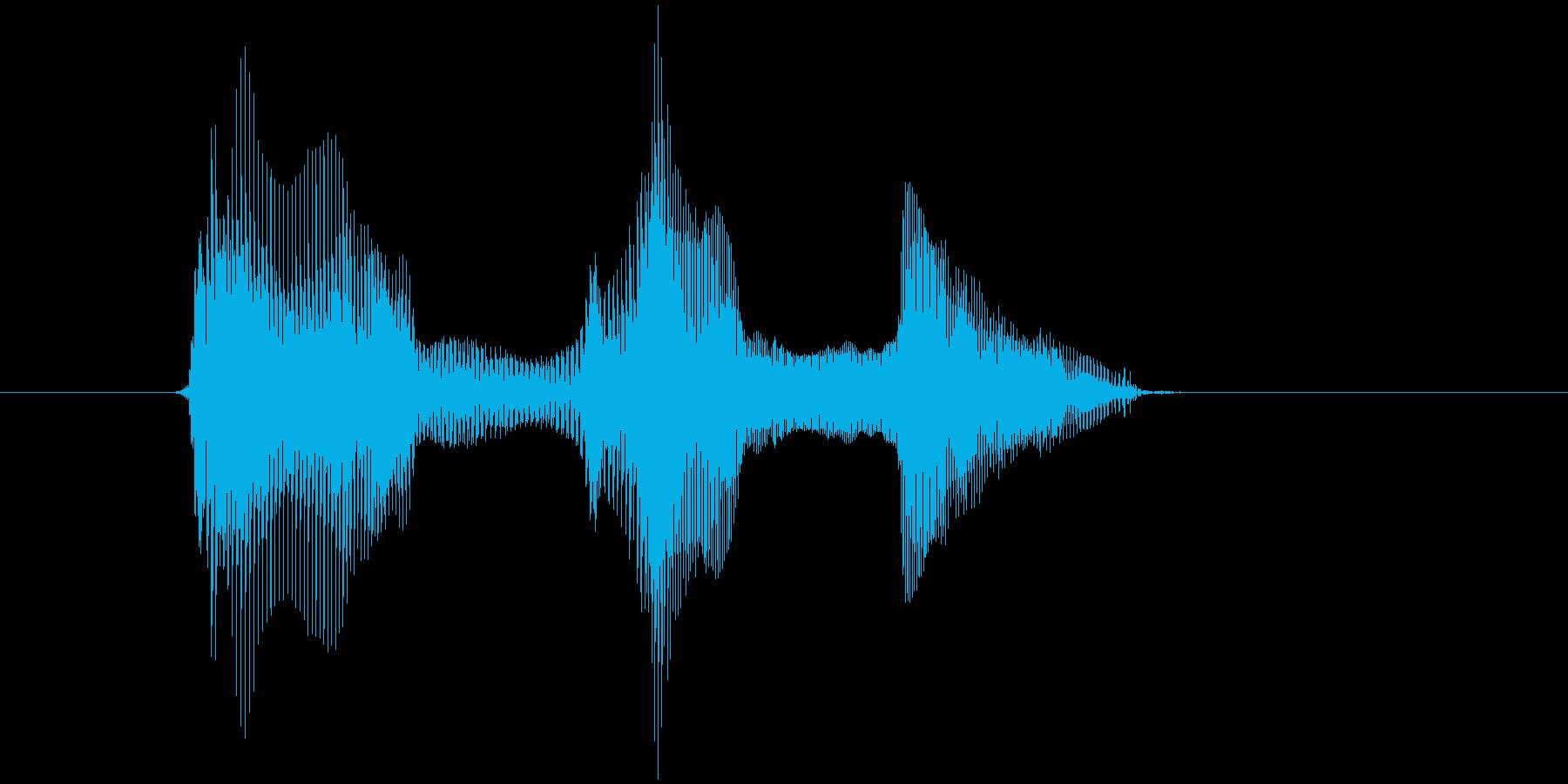 第四問(だいよんもん)の再生済みの波形