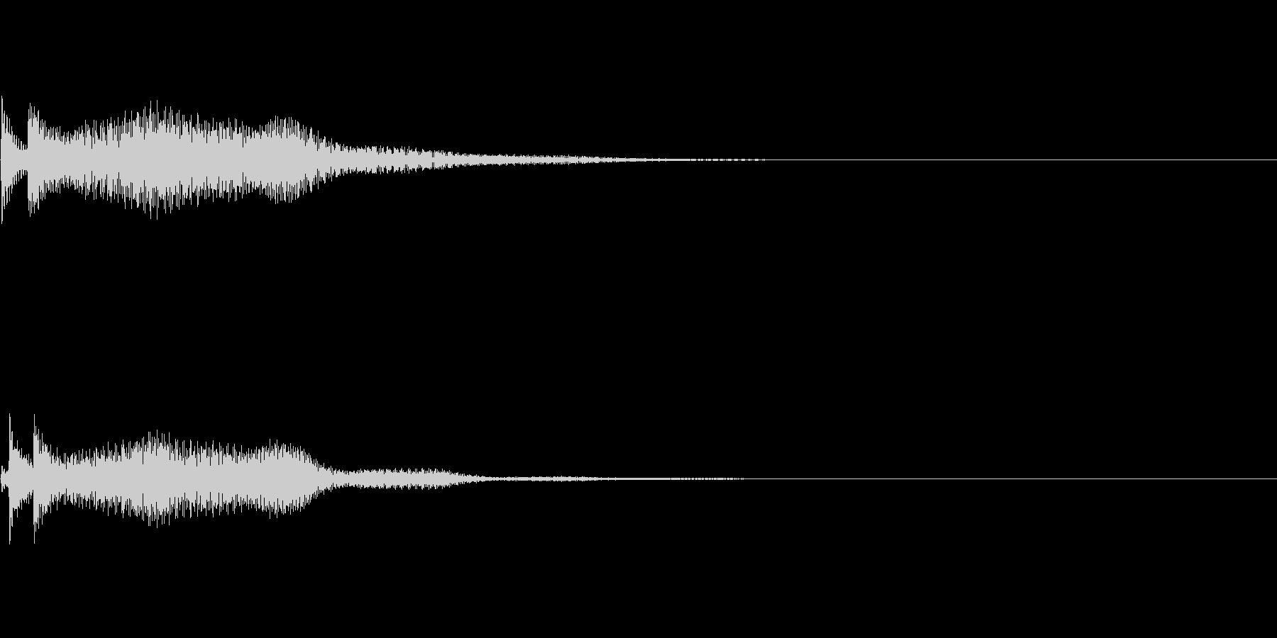 システム音09_シンセDPの未再生の波形