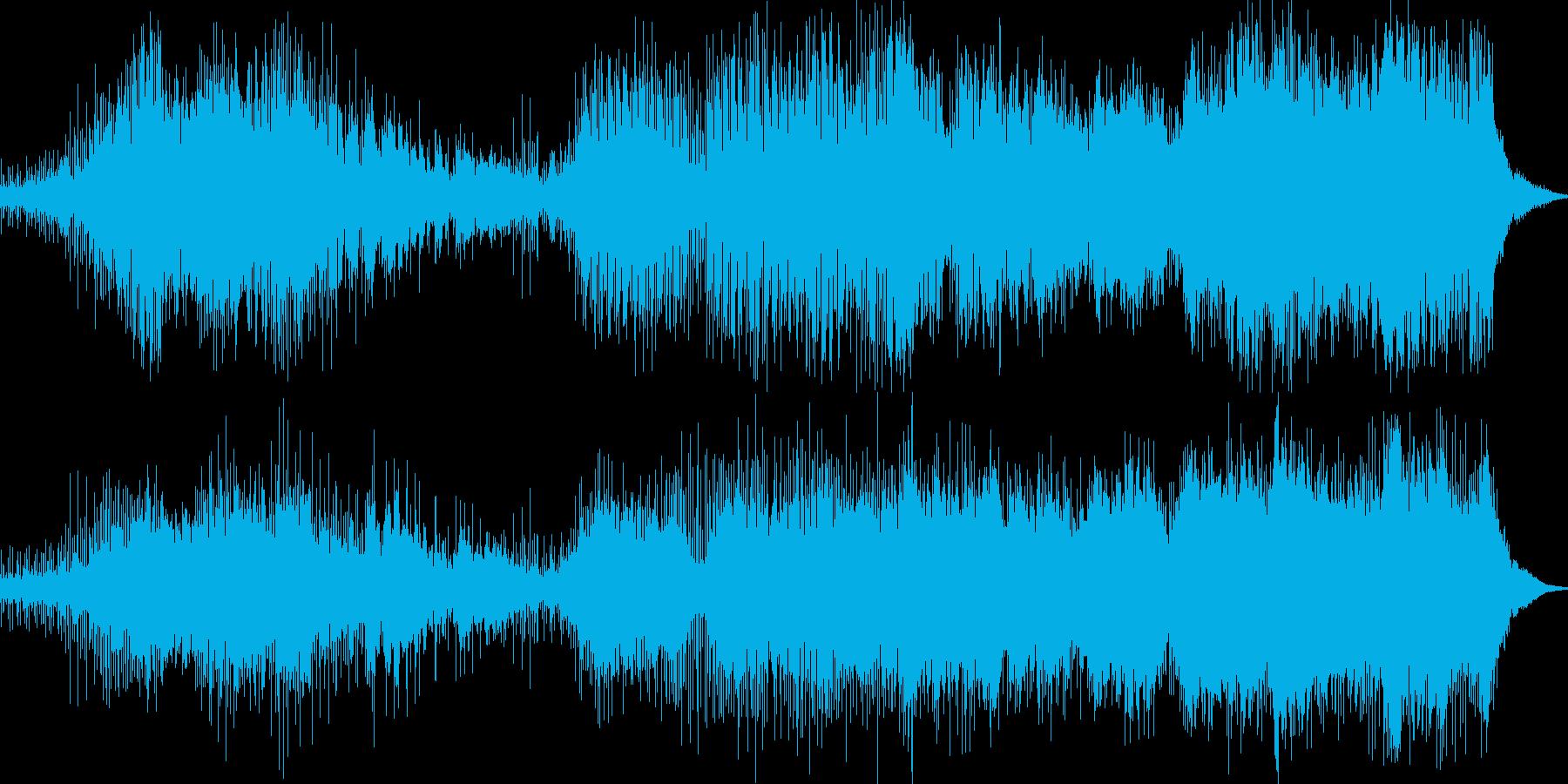 映画サウンド 夜景に似合う曲を作りまし…の再生済みの波形