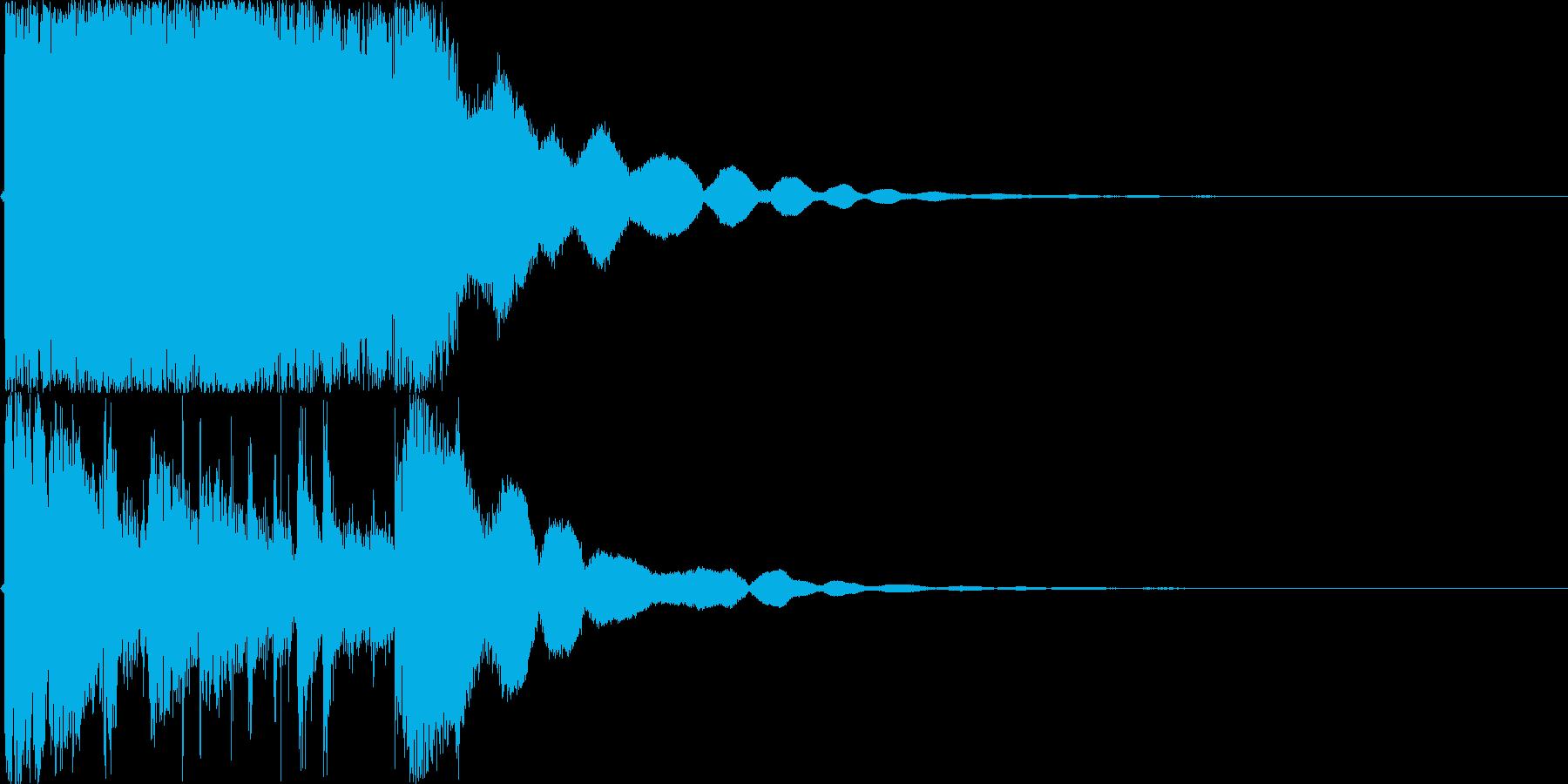 【ジングル】登場・変身シーンなどにの再生済みの波形