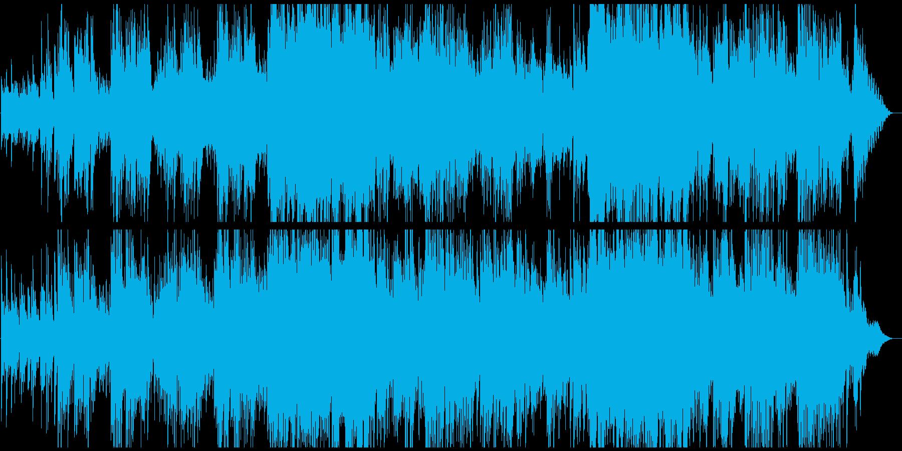 ユーミン風レトロな雰囲気のポップスの再生済みの波形
