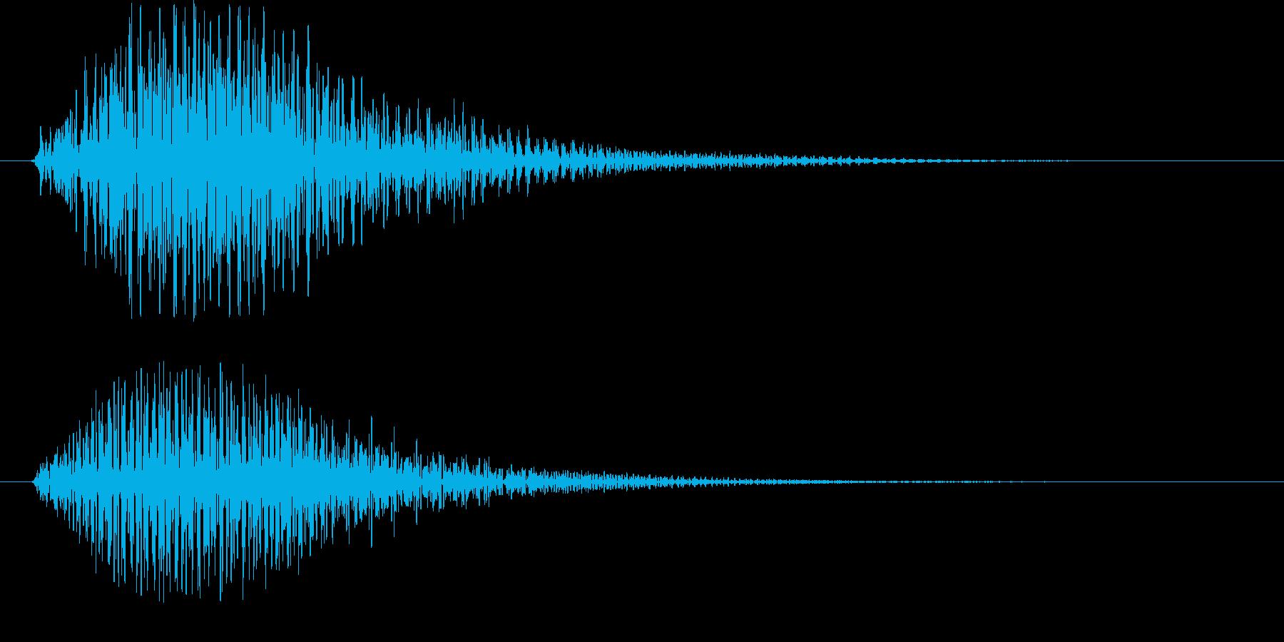 起動音やニュースなどに使えますの再生済みの波形