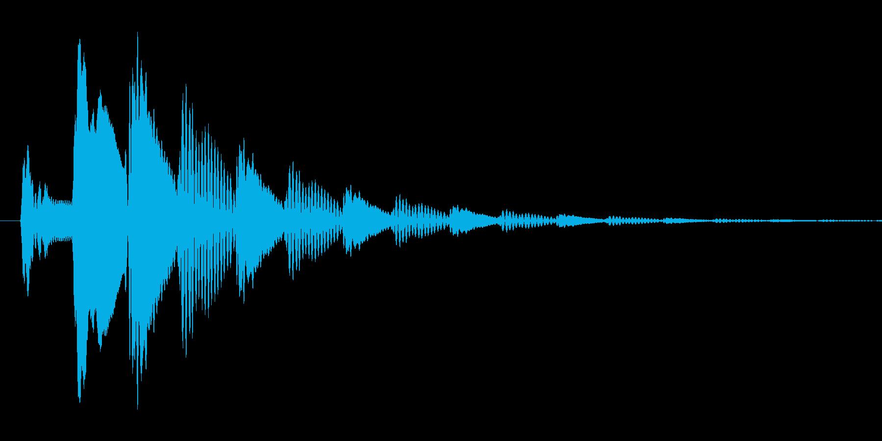 ポップアップ_決定音系_03の再生済みの波形