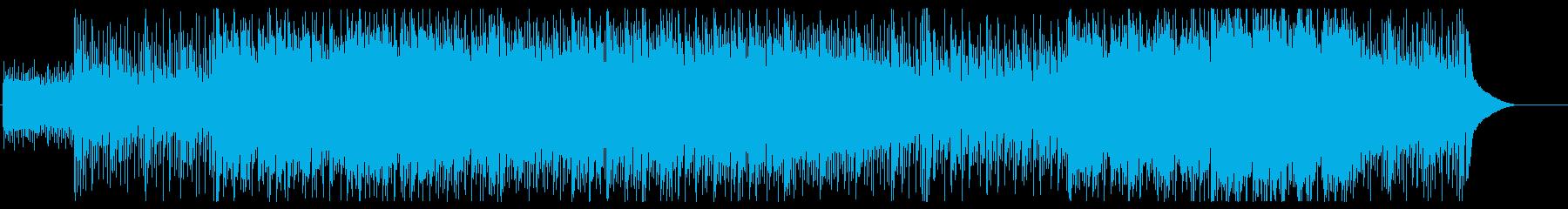 異国情緒溢れる怪しく不思議なBGMの再生済みの波形
