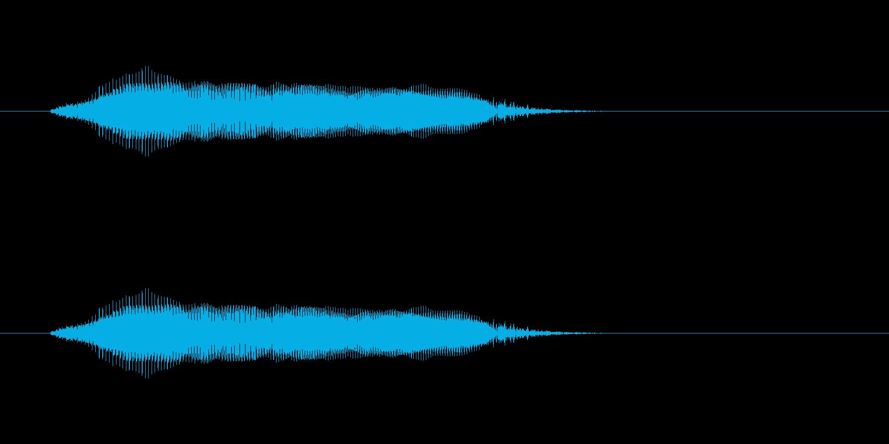 【牛 合成01-2】の再生済みの波形