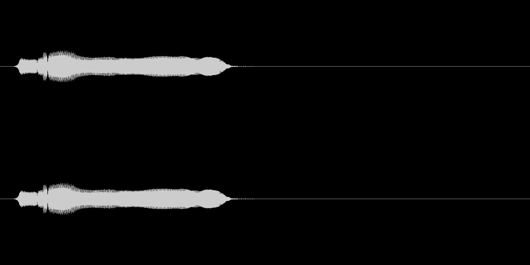【ブーブークッション02-2】の未再生の波形