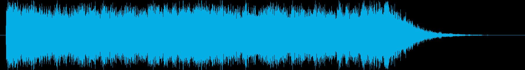 フルオーケストラの雄大&壮大なロゴの再生済みの波形