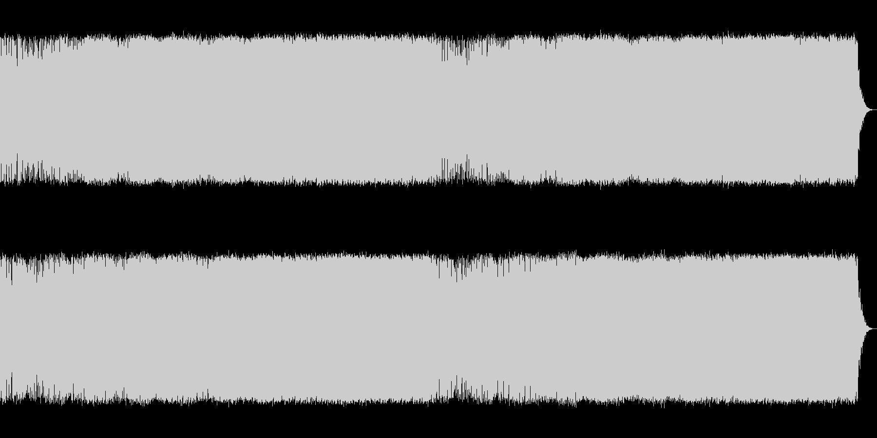 中盤戦を思わせる空気感ある電子系の曲【…の未再生の波形