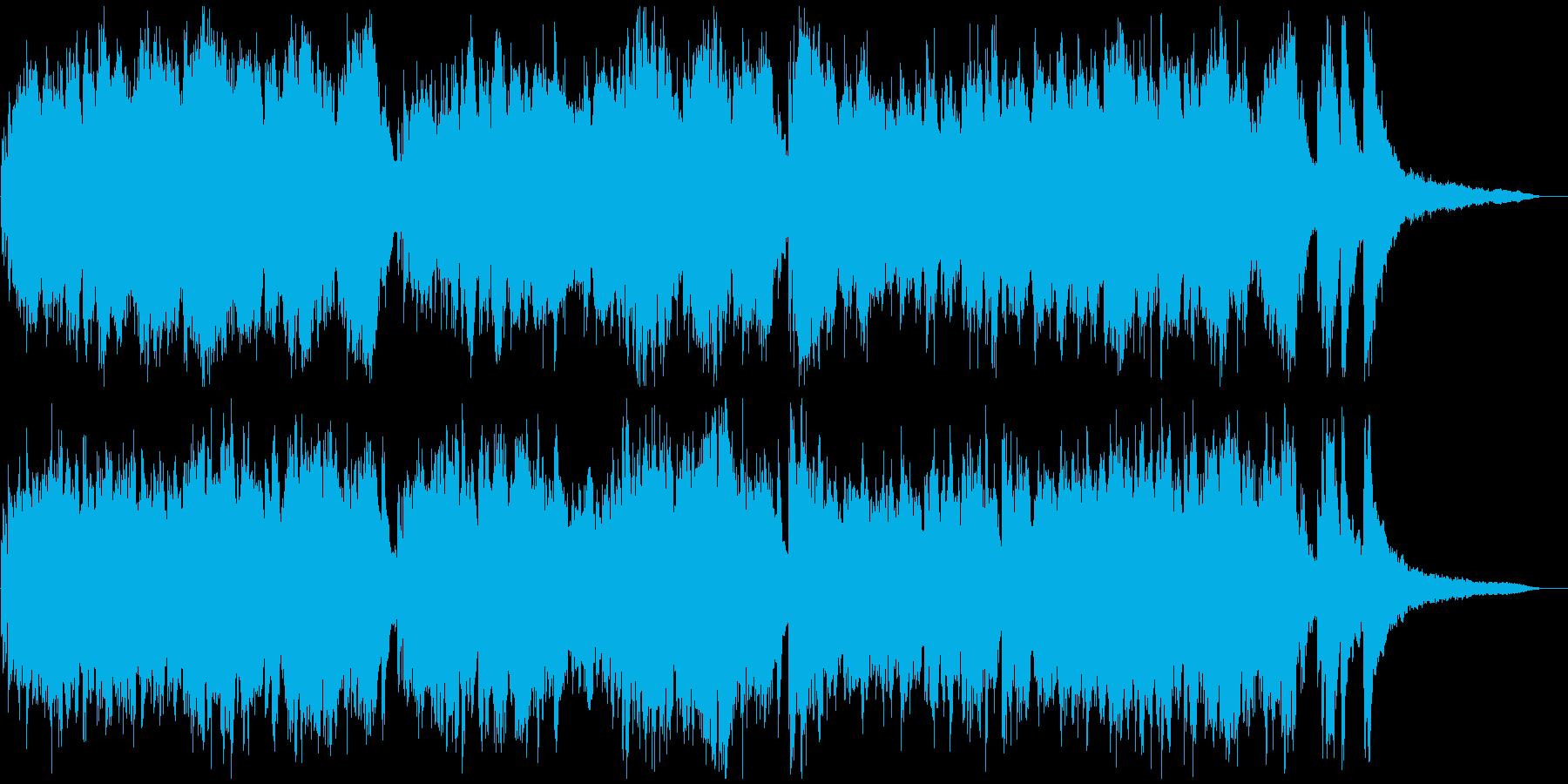 現代音楽風タイムラプス用ピアノソロ3分の再生済みの波形