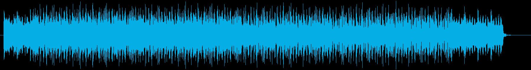 重みのあるオープニング曲の再生済みの波形