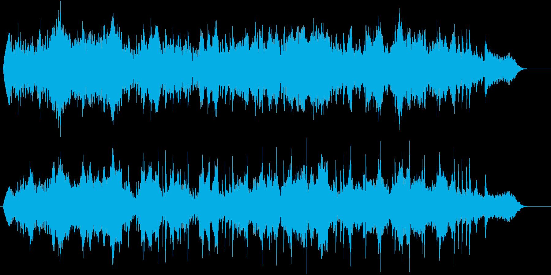 生演奏:爽やかな雰囲気の弦楽&ピアノの再生済みの波形