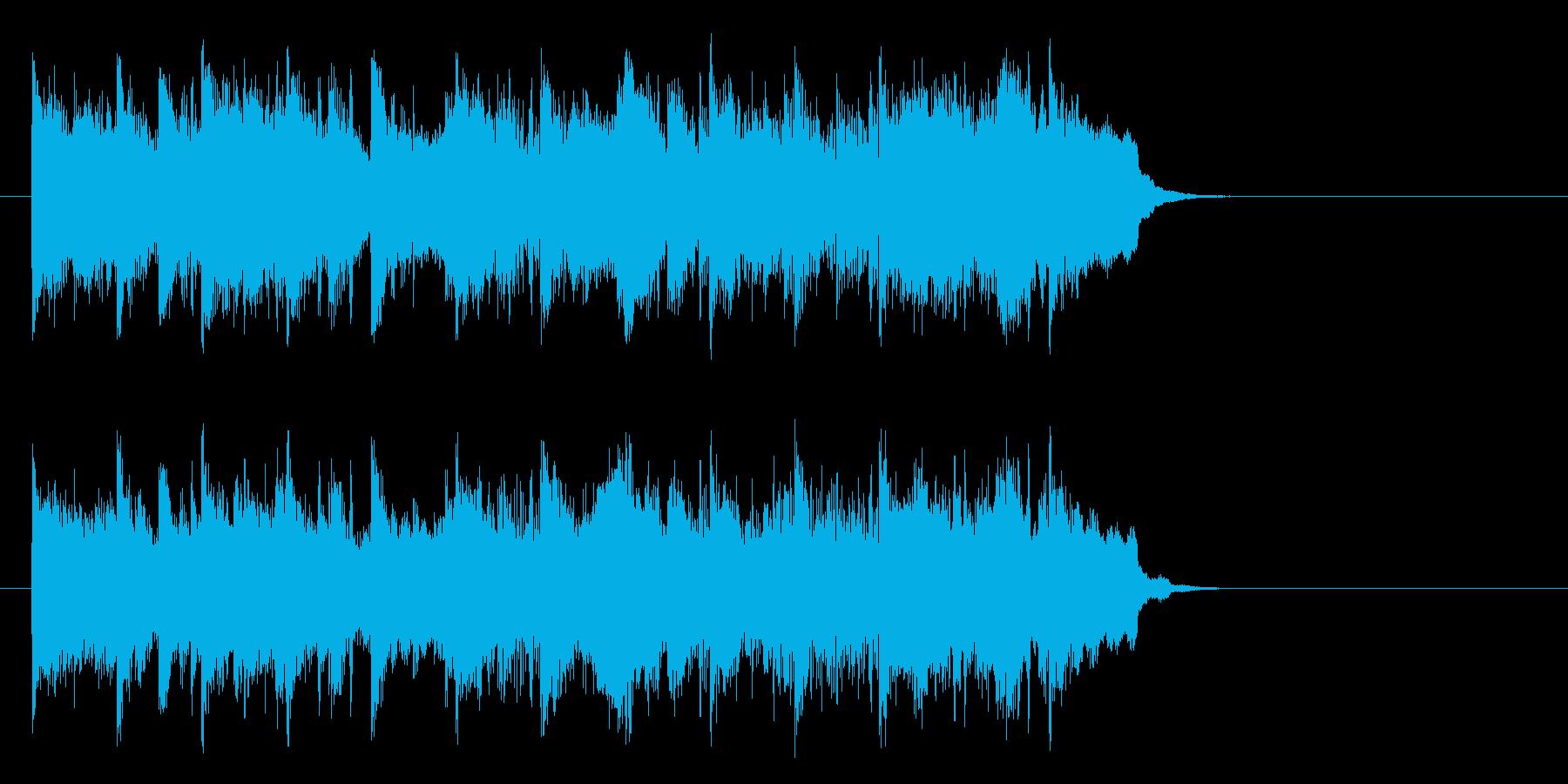 優しいアコースティック(サビ)の再生済みの波形