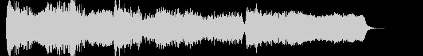 15秒CMの20 安らぎの金管とピアノの未再生の波形