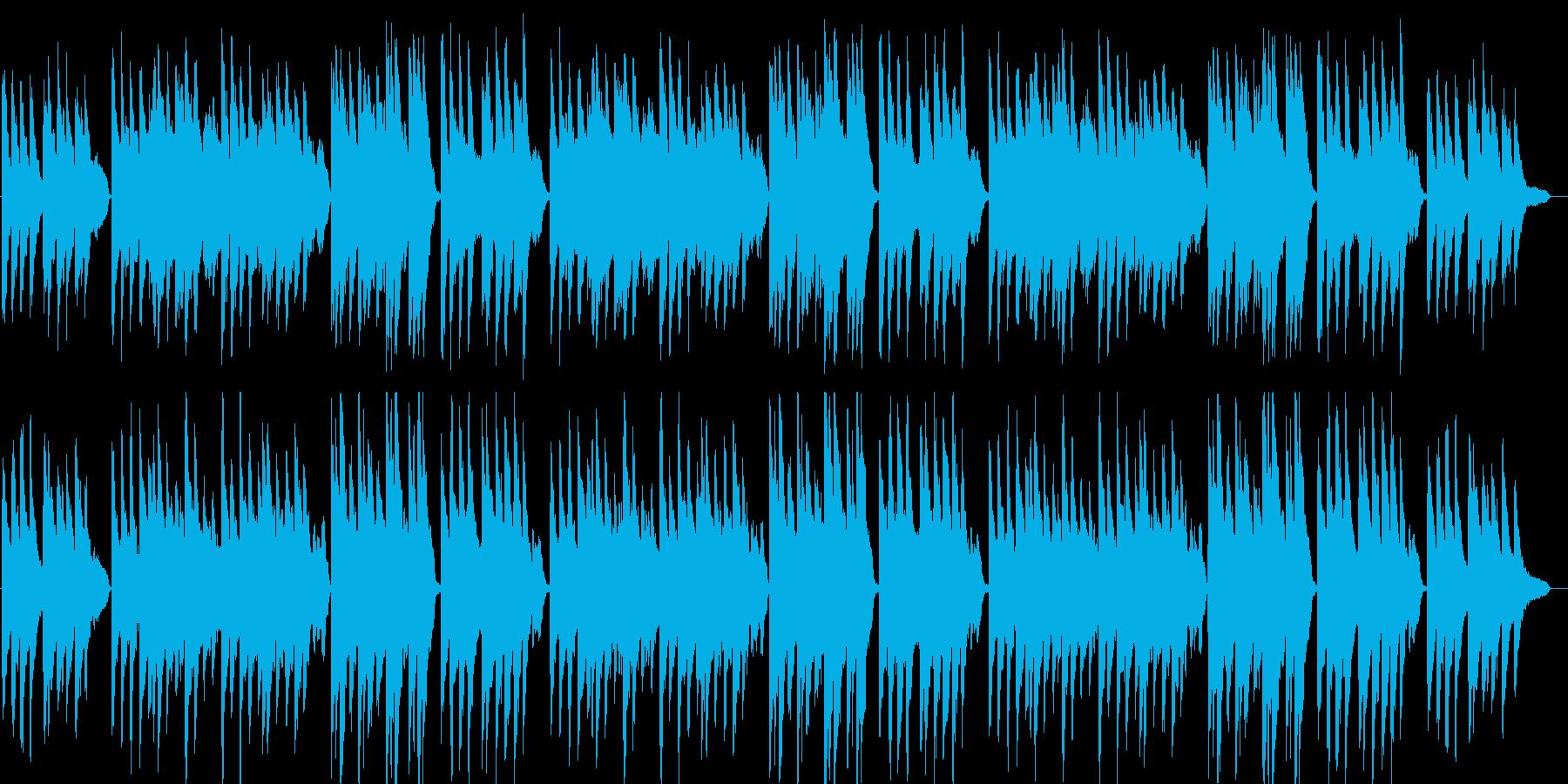 ふるさと(童謡)ピアノ&ストリングスの再生済みの波形
