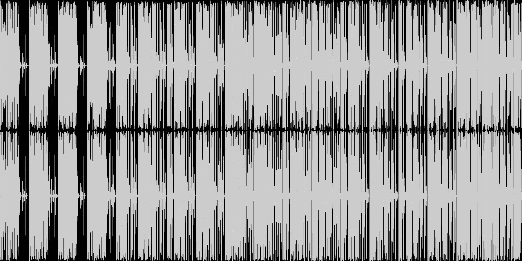 techonoですの未再生の波形