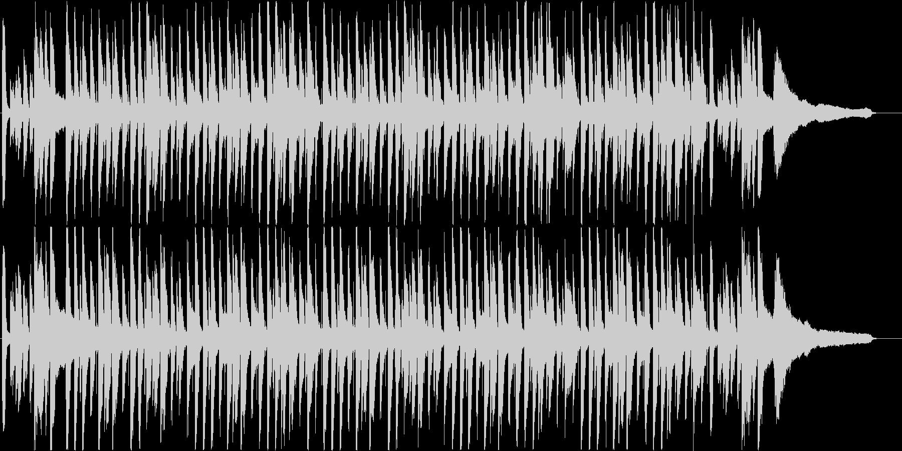 「ジングルベル」ライトジャズバージョンの未再生の波形