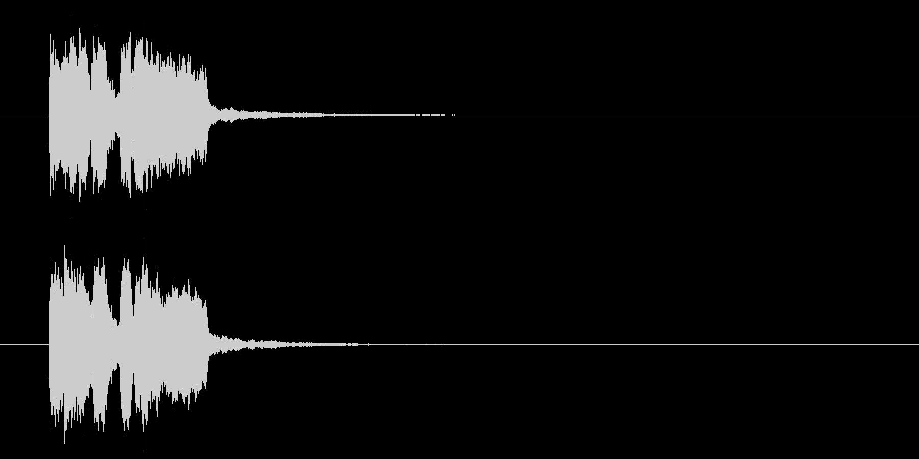 ゲームクリア音・登場音の未再生の波形