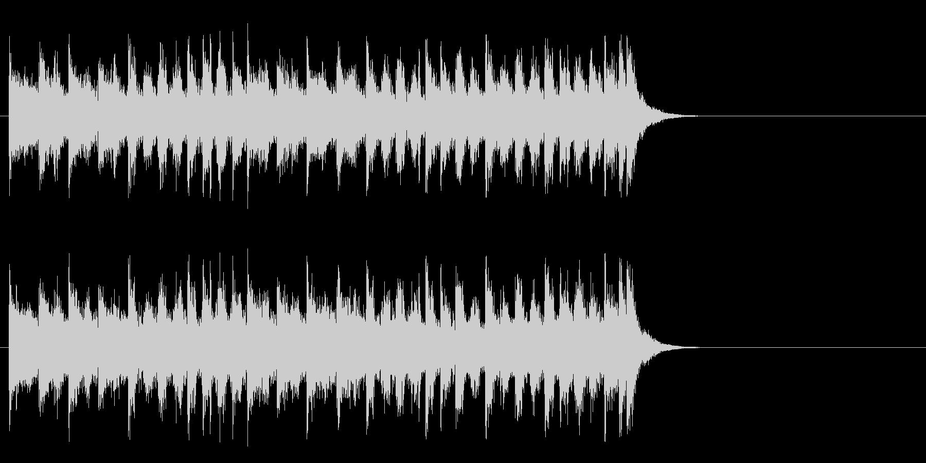力強いファンク ポップ(サビ)の未再生の波形