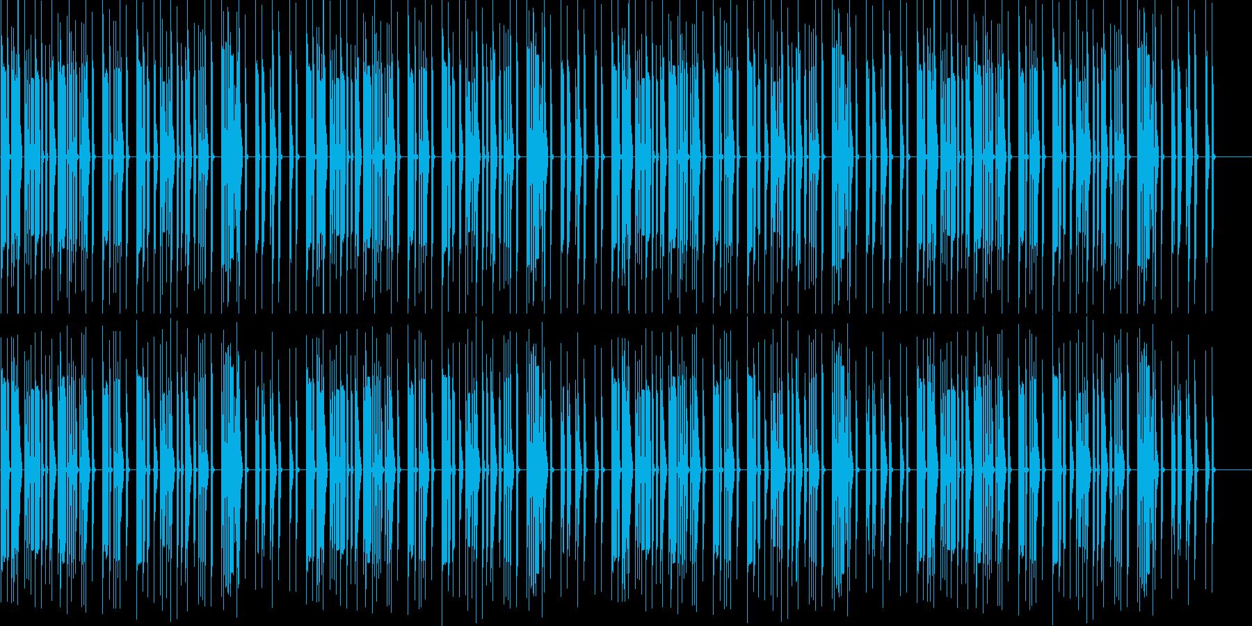 笑を誘うシーンに、アニメ、動画にの再生済みの波形