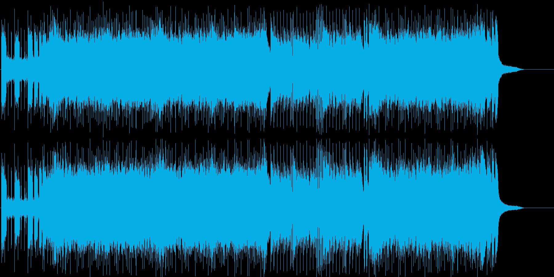 レース スピード 追跡 スリル 挑戦の再生済みの波形