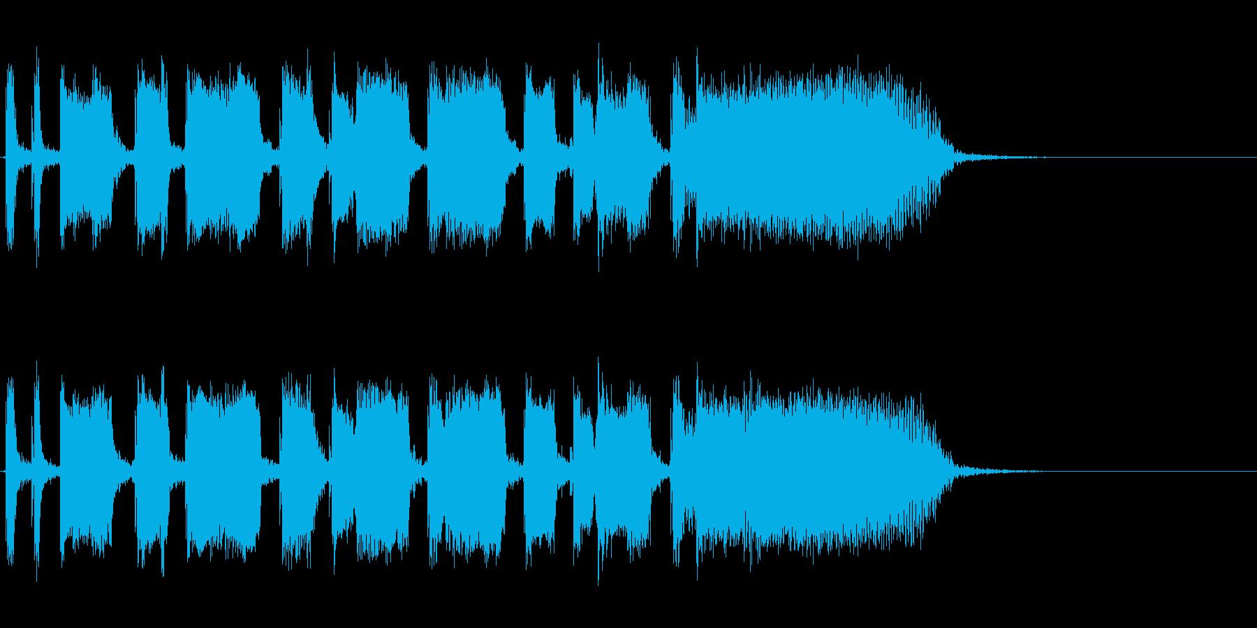 Guitarジングル1/カッティングの再生済みの波形