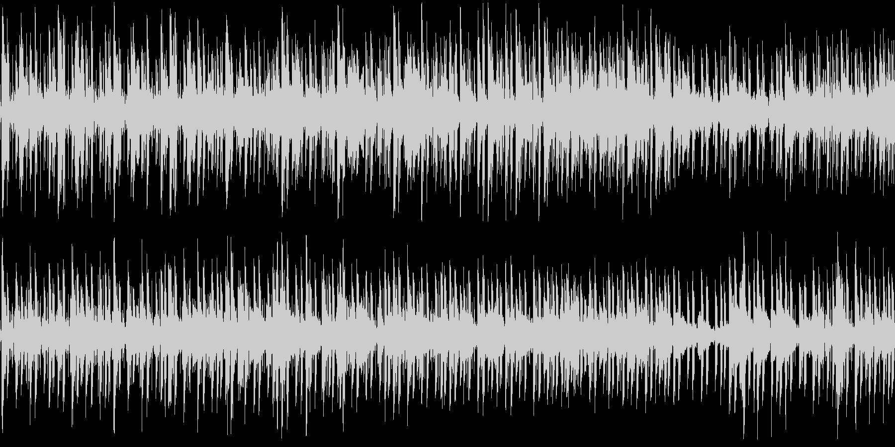 落ち着いたオシャレボッサの未再生の波形