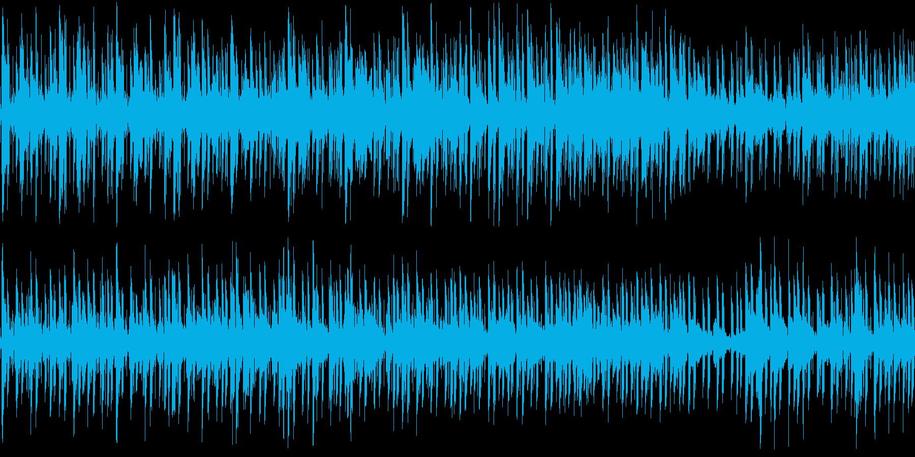 落ち着いたオシャレボッサの再生済みの波形