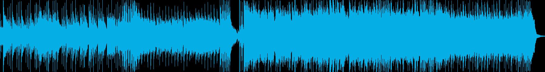 和風なキャラの登場BGMの再生済みの波形