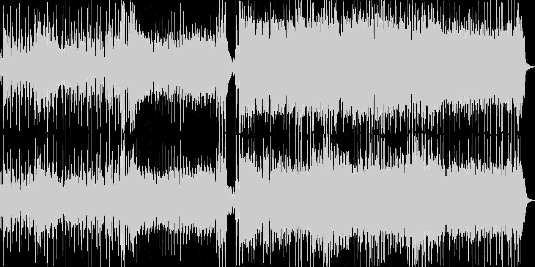 和風なキャラの登場BGMの未再生の波形