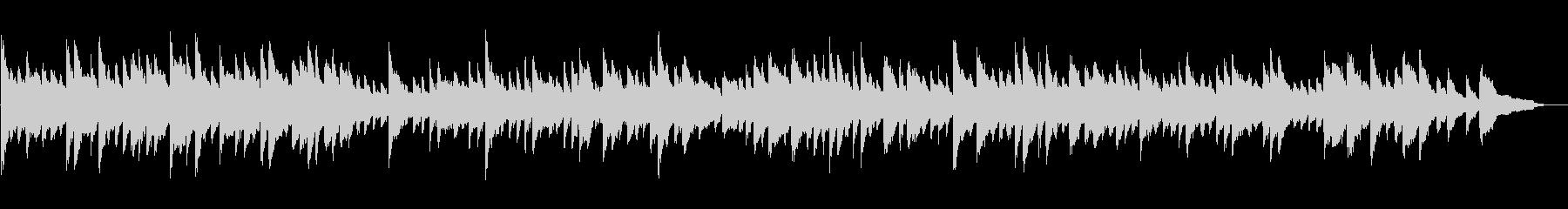 BGMに最適のピアノソロ音源の未再生の波形