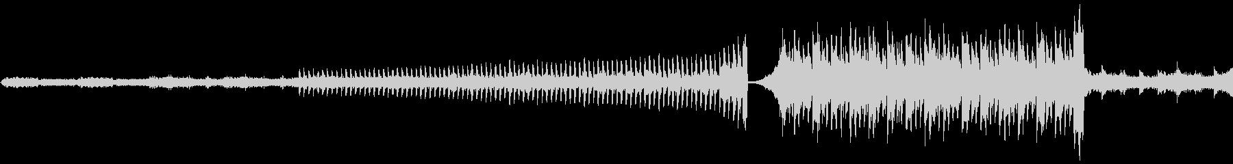 サンプリング音源を多用して実験的に制作…の未再生の波形
