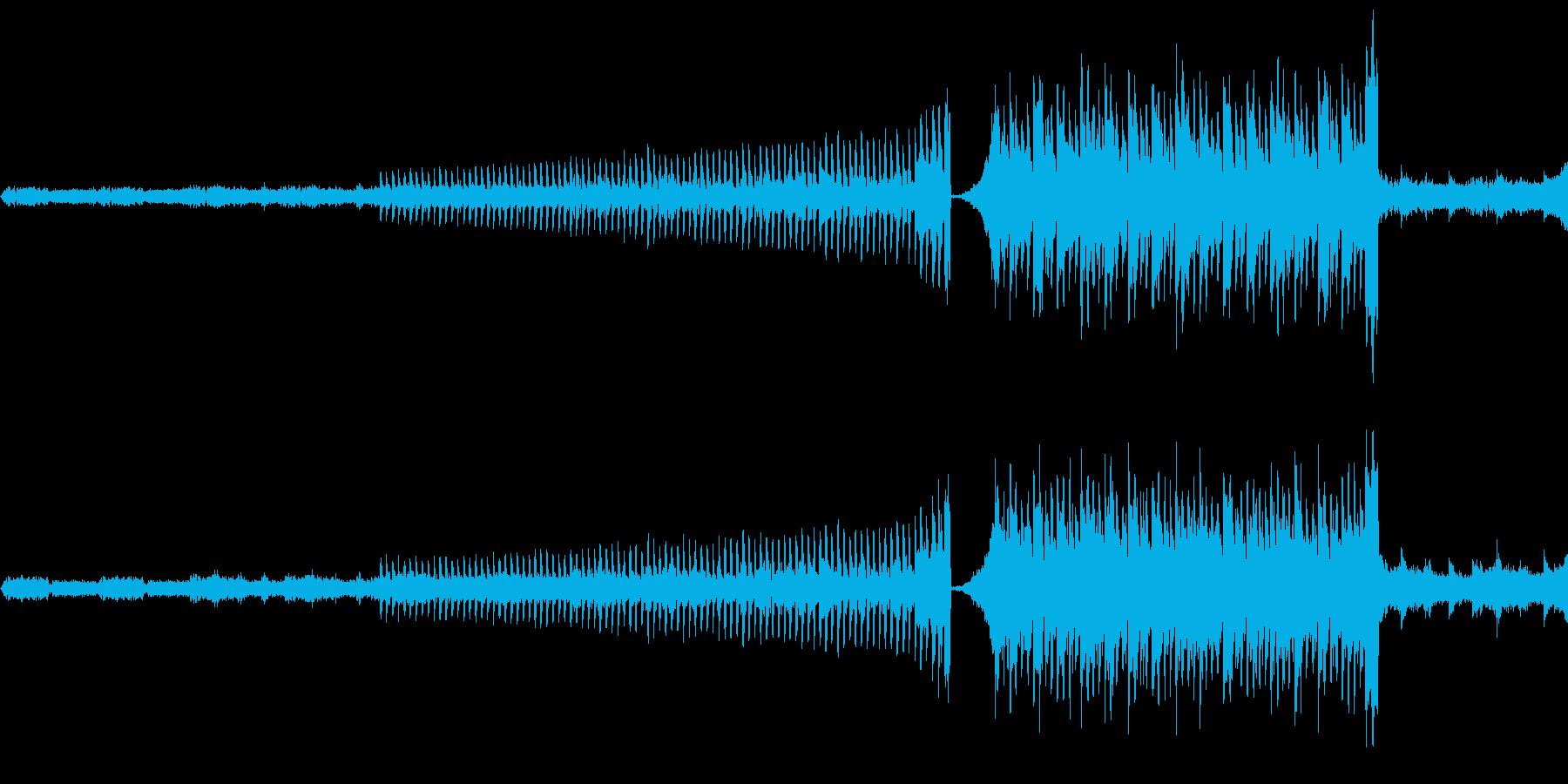 サンプリング音源を多用して実験的に制作…の再生済みの波形