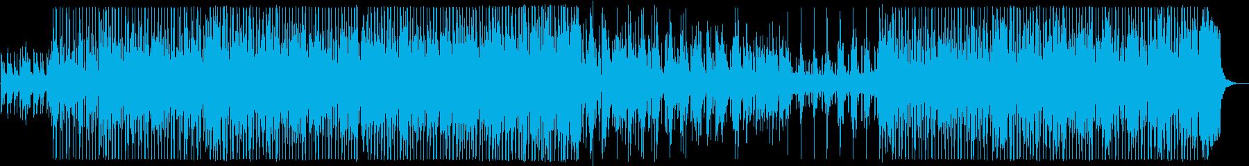 管楽器が入った小編成のジャズの再生済みの波形