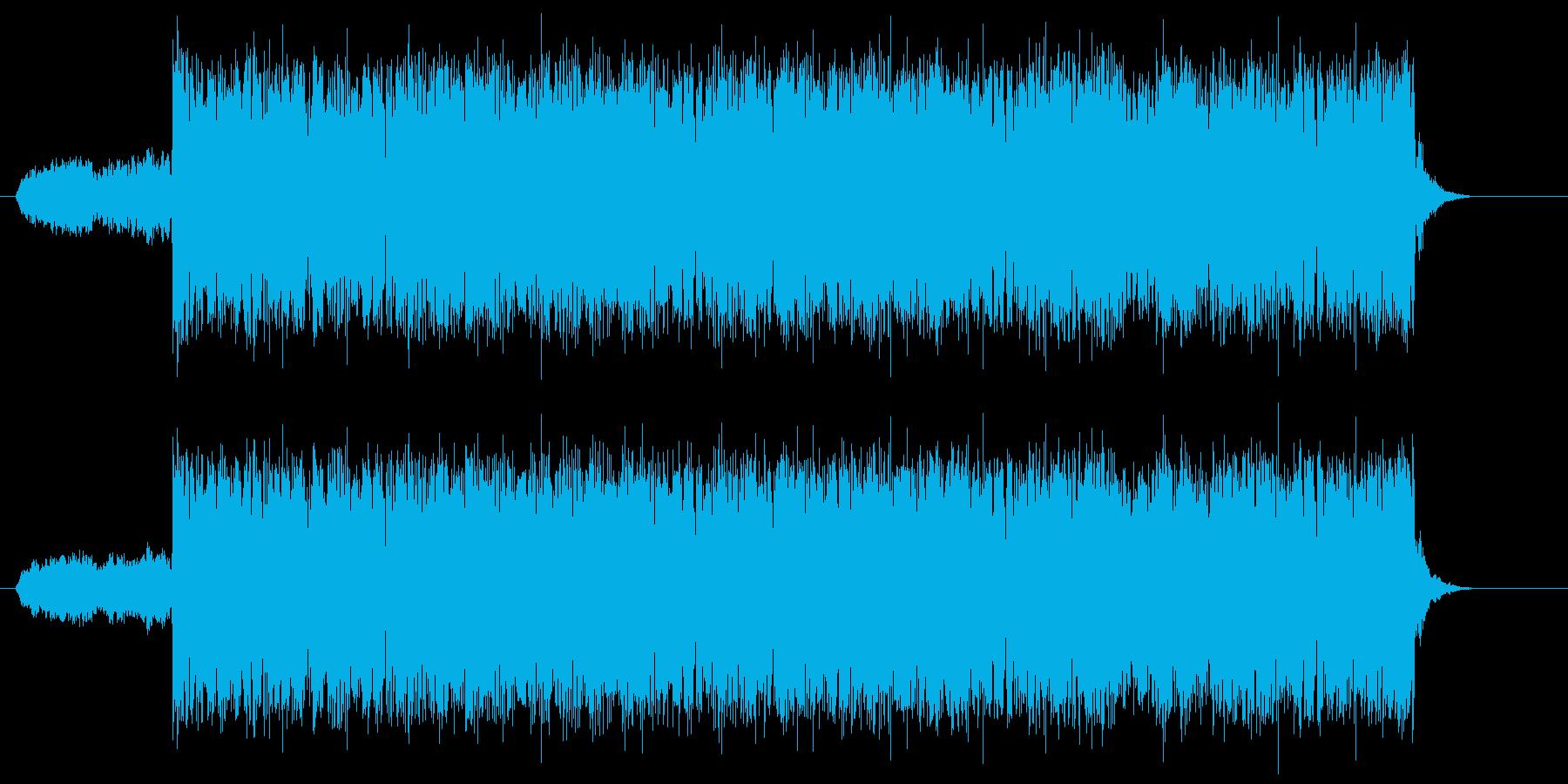 疾走感のある壮大な戦闘曲の再生済みの波形