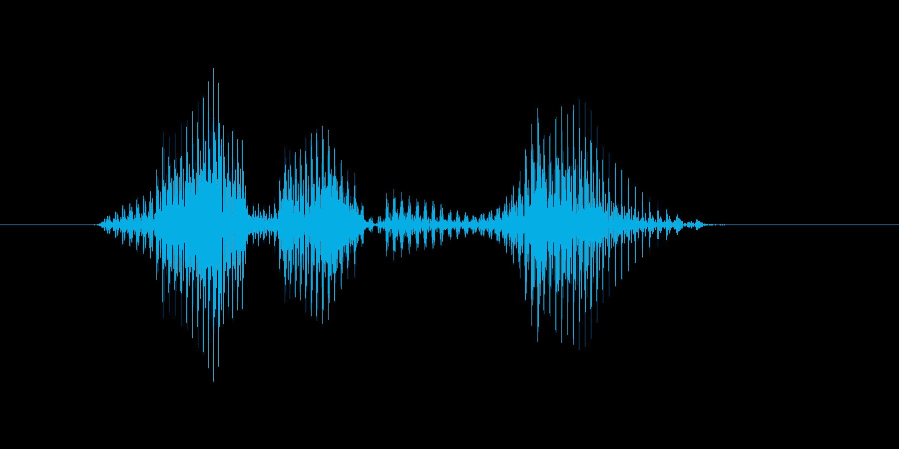 レベル4(よん)の再生済みの波形