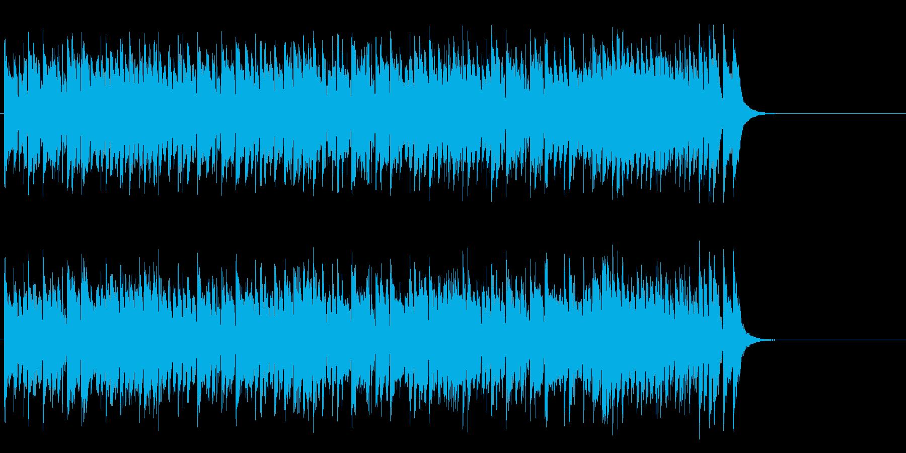 元気ハツラツOPポップス(サビ~エンド)の再生済みの波形