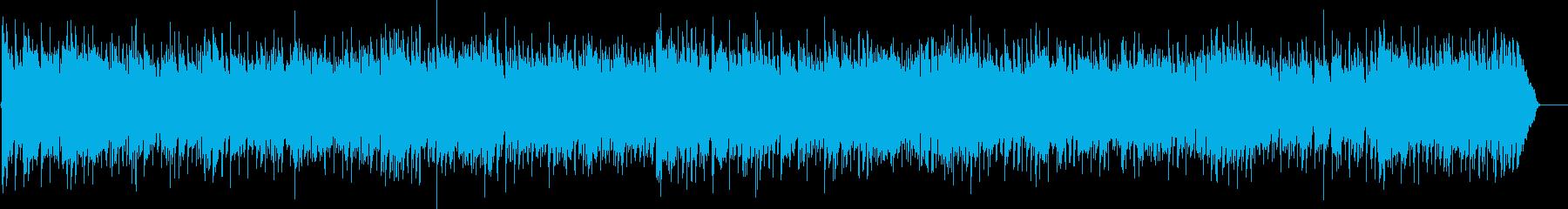 爽やかなカントリー・ウェスタン調ロックの再生済みの波形