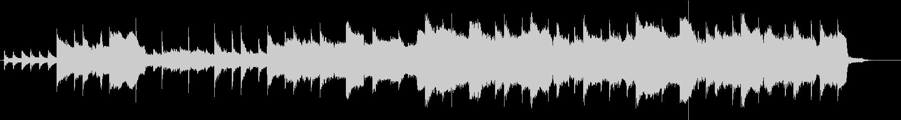 ケルト音楽風のインストゥルメンタルの未再生の波形